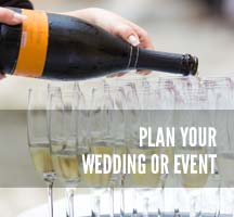 Plan your wedding or event